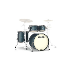 Tama Starclassic Maple Standard Flat Deep Green Metallic (Smoked Black Nickel)