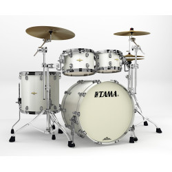 Tama Starclassic Maple Standard Snow White Pearl (Black Nickel)