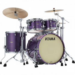 Tama Starclassic Maple Standard Rock Deeper Purple (Cromado)