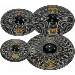 Meinl Set Platos Classics Custom Dark CCD460+18