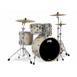PDP by DW Concept Maple CM5 Standard Twisted Ivory + Set Hardware