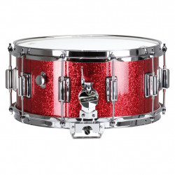 """Rogers Dyna-Sonic Red Sparkle 14x6.5"""""""