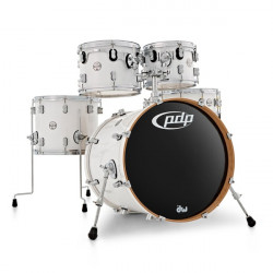PDP by DW Concept Maple Studio Pearlescent White