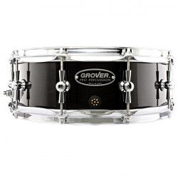 """Grover G1-5-N Concert Snare Drum Ebony 14x5"""""""