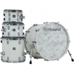 Roland VAD706-PW E-Drum Set Acoustic Design White