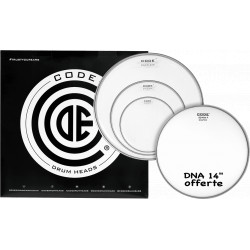 """Code Pack DNA Clear Rock + 14"""" DNA Coated"""