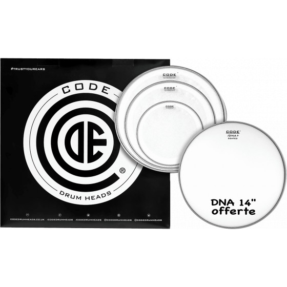 Code Pack Generator Clear Fusion + DNA Coated