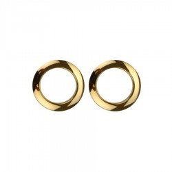 """Bass Drum O's Bass Drum Ring 02"""" Gold"""