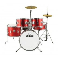Jinbao Drumset Junior 1045 Red Wine