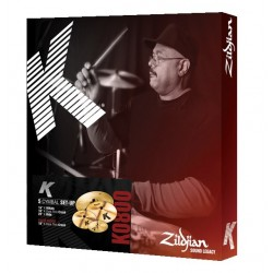 Zildjian Set Platos K + Crash 18""