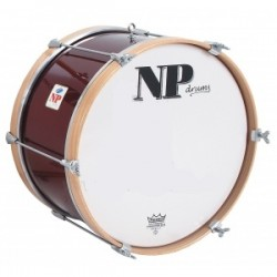 NP Bass Drum 55x20 cms Red Wine