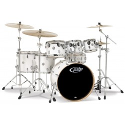 PDP by DW Concept Maple CM7 Pearlescent White